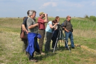 BTCV bird identification course at Langford Lowfields.