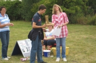 Besthorpe Village Fete award of Golden Welly