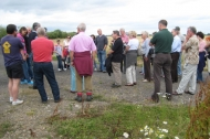 Besthorpe Village Fete tour of  new NWT Besthorpe Nature Reserve