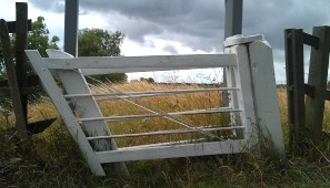 Clapper gates are a unique but classic feature along the River Trent.