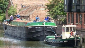 Newark Heritage Barge was awarded Trent Vale funding for an oral history project