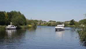 View of the Trent from Farndon. Photograph: Philip Ingall