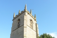 The tower of South Clifton church