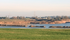 The gravel quarry at Besthorpe.
