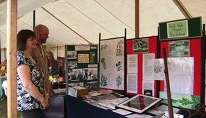 Trent Vale's Tales stall during the research of the Holmes.