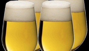 Photograph of some blonde ale which is what we hope the new Trent Vale Ale will look like once we have a name