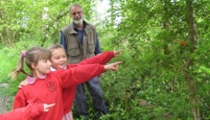 Pupils from North Wheatley Primary School visiting Treswell Wood