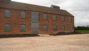 The Old Willow Works at Beckingham, Nottinghamshire, during restoration which is due for completion by summer 2011